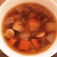 野菜スープ離乳食に♪