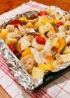 超簡単!野菜のオーブン焼き!