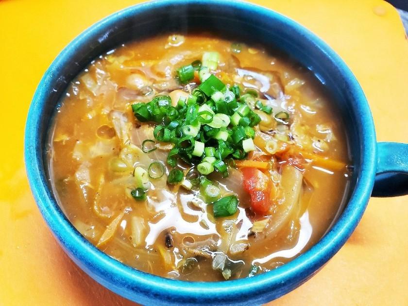 燃焼スープをダイエット&認知症アレンジ♪