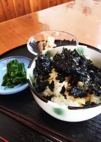 韓国海苔た〜ぷり!卵掛けご飯