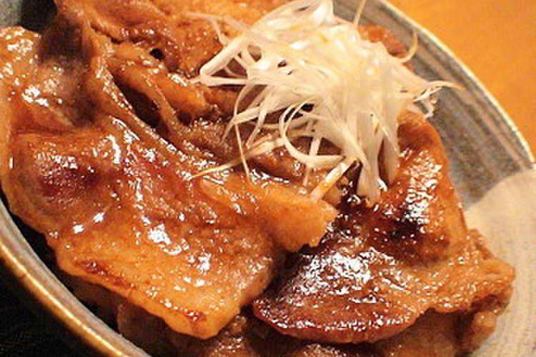丼 レシピ 豚