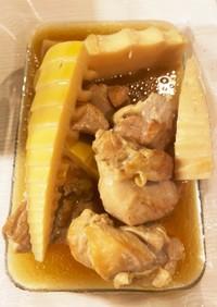 たけのこと鶏肉の煮物