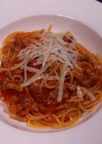 サイゼのパルマ風スパゲッティの再現!