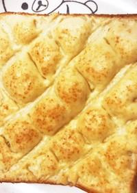 HMとサラダ油だけでメロンパントースト☆