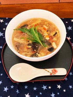 食物繊維でダイエット☆サンラータンスープ