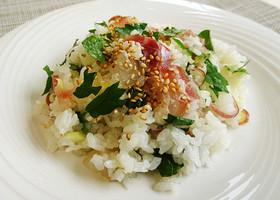 「減らソルト」混ぜ寿司