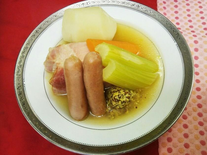 簡単‼ドイツ料理野菜スープ アイントプフ