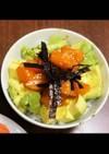 アボカドサーモン丼 わさび醤油