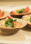 ねぎ焼きホッキ貝