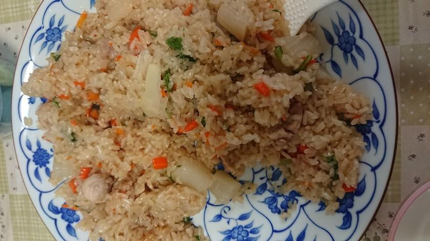 休校レシピ12   簡単春の炊き込みご飯