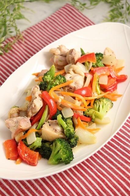 ダイエット!たっぷり鶏野菜のマヨ蒸し焼き