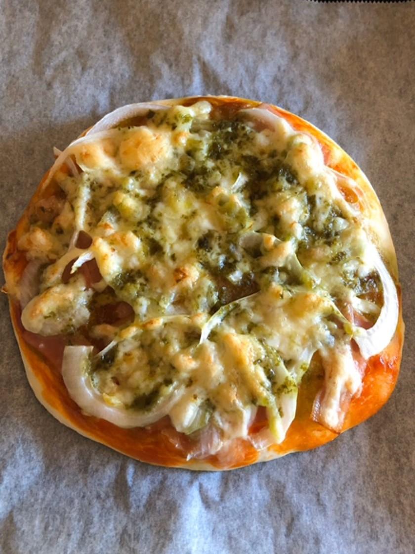 発酵なしピザ!