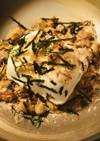 毎日の納豆●1/4絹ごし豆腐&おかか海苔