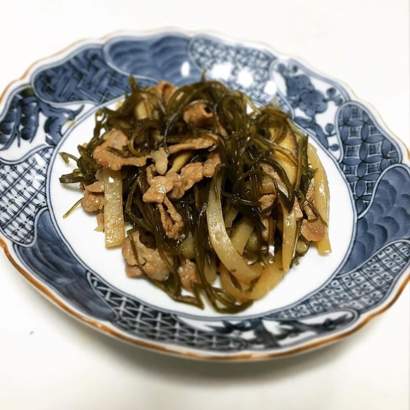 クーブイリチー(切り昆布の炒め煮)