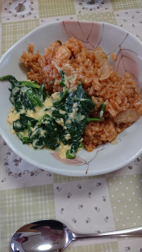 休校レシピ14 簡単チキンライス