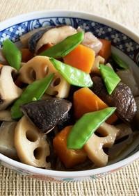 ☆レンコンと椎茸とこんにゃくの甘辛煮☆