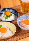 卵黄の無敵漬け おつまみアレンジ3種
