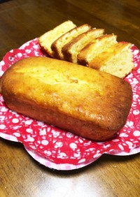 檸檬パウンドケーキ