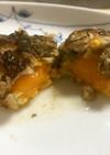 千寿ネギと冷凍卵黄のハンバーグ