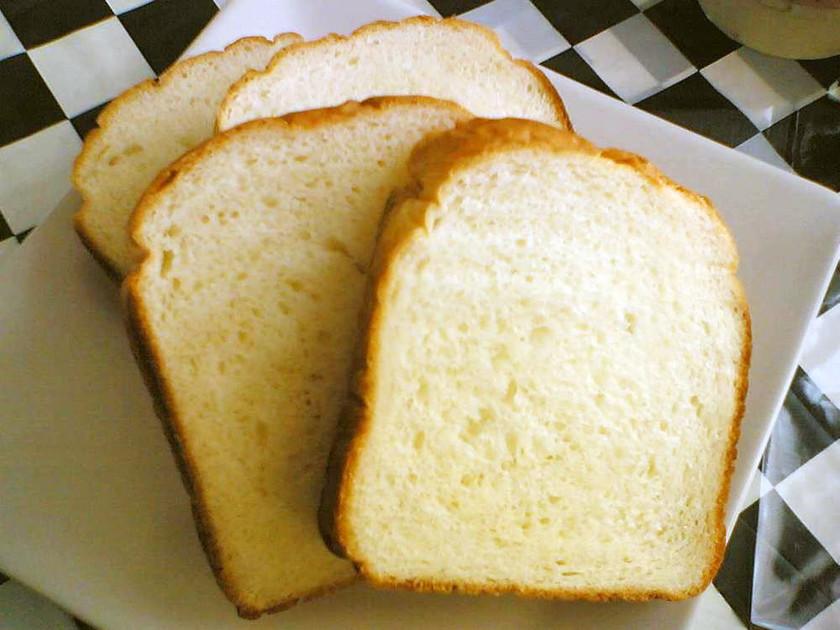 HBで♪もっちりお米パン。