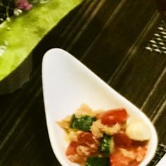 モッツァレラのトマキュウサラダ