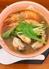 鍋の元を使って簡単本格トムヤンクンスープ