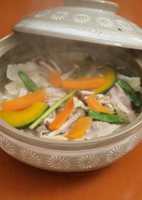 夏こそ温野菜 夏のスチーム鍋
