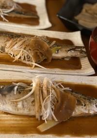 低温調理で鯖の味噌煮