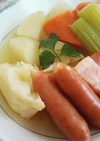 フランス料理野菜スープ♪ポトフ