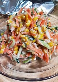 新にんじんお野菜たっぷりツナサラダ