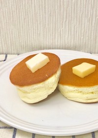 スフレパンケーキをホットケーキミックスで