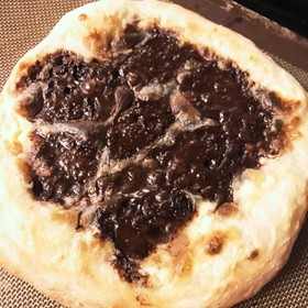 テンション上がるティラミスピザ