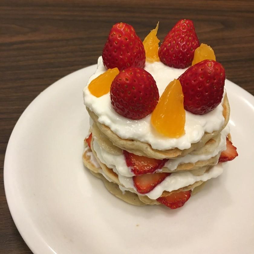 卵牛乳砂糖なし!1歳のバースデーケーキ