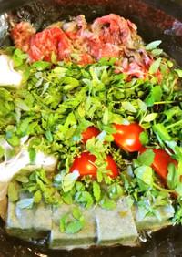 新玉葱が主役 すき焼きの花山椒鍋