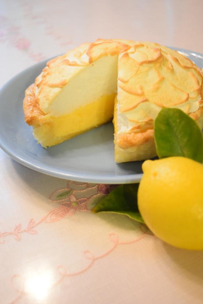 応用編❀手作りパートブリゼのレモンパイ