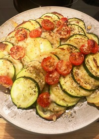 オーブンで焼き野菜