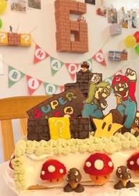 ☆スーパーマリオケーキ☆