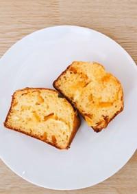 バター不使用.簡単オレンジパウンドケーキ