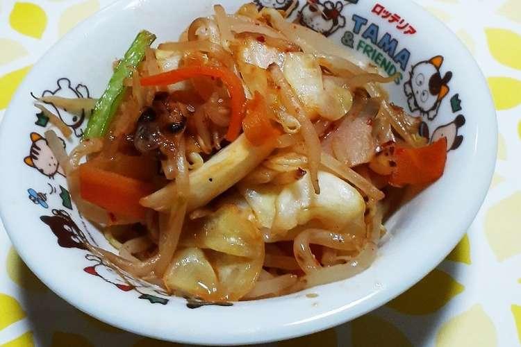 野菜 炒め キムチ