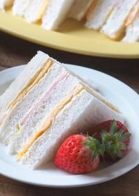 簡単♡台湾風サンドイッチ(三明治)