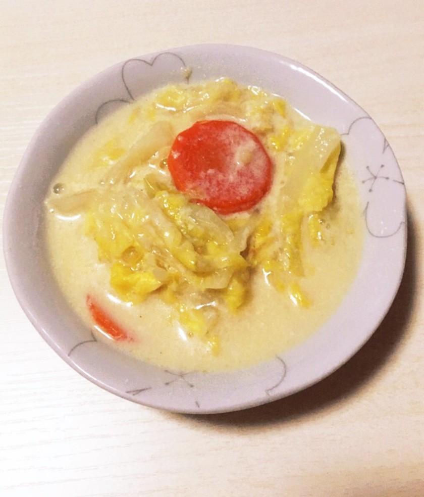 鶏肉とキャベツのクリーム煮