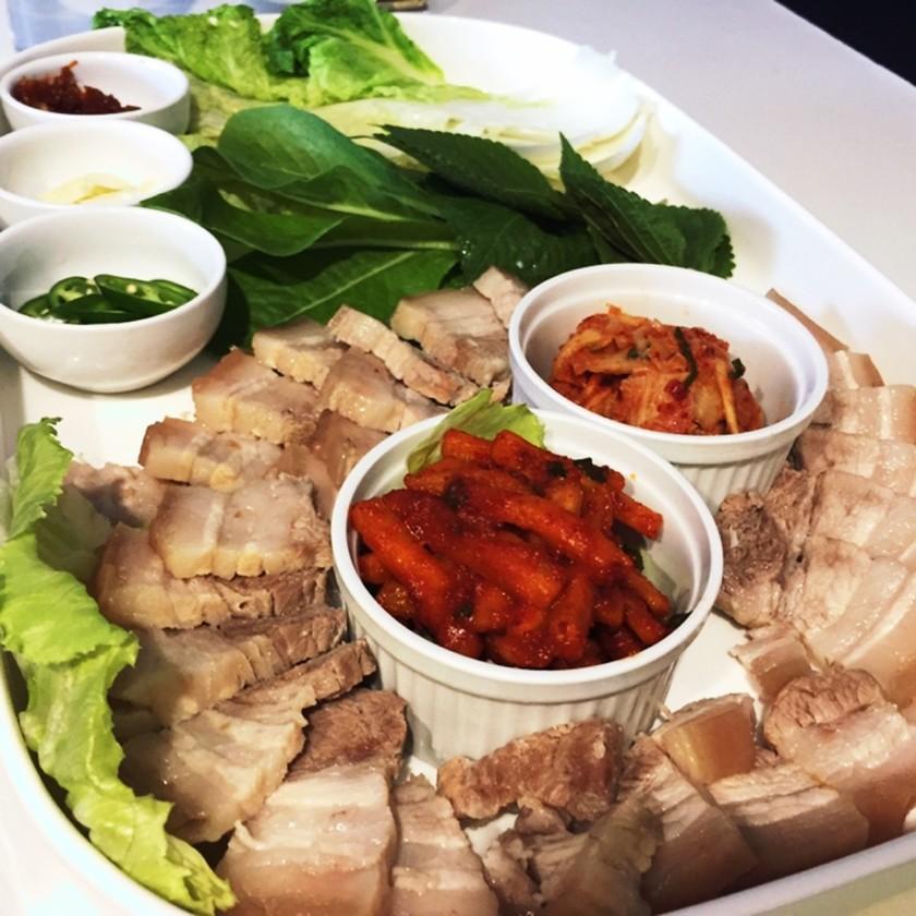 韓国人妻のポッサム(準備時間3分)