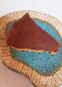 焼かない!チョコチーズケーキ
