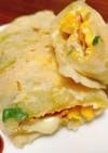台湾朝食(ダンビン)台湾風クレープ