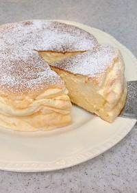安い!簡単!美味しい!スフレチーズケーキ