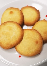 フルーツ缶シロップ使用☆さくさくクッキー