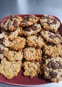 簡単オートミールとフルグラのクッキー
