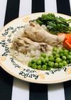 炊飯器でご飯とおかず 簡単チキンライス