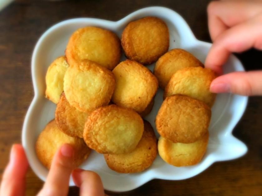 簡単キッズレシピ♪材料3つ簡単クッキー