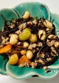 ひじきとサラダ豆の含め煮